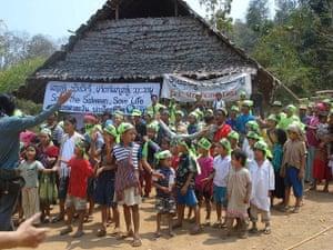 Floods 1953: Children Participate in Anti-Dam Protest