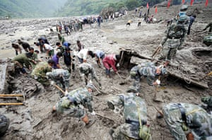 Floods 1953: Death toll from SW China mudslides rises to 23, 69 still missing