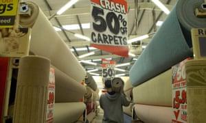 Carpetright is Britain's biggest flooring retailer.