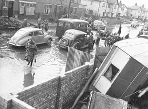 1953 floods: Wisbech road area in King's Lynn