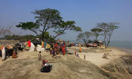 Climate refugees from Kutubdia