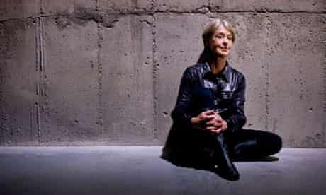 """Suzanne Lacy. Photographed in the """"Tanks"""" at Tate Modern"""