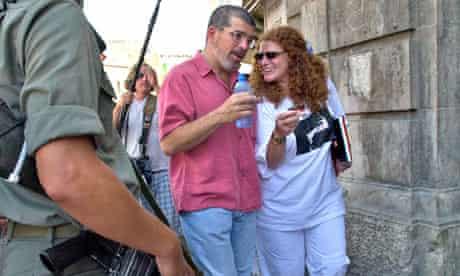 David Mamet in Jerusalem, 2002