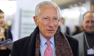 The Zambian-born governor of the Central Bank of Israel, Stanley Fischer. No reason has yet been given for his early departure.
