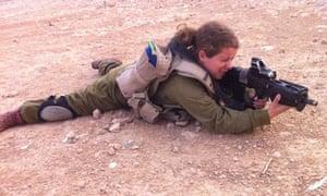 IDF female solider Arielle Werner