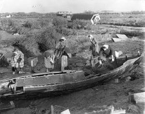 1953 floods: floods in Heacham, Norfolk