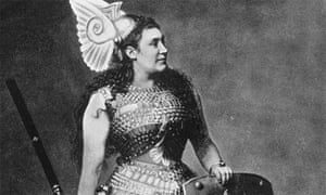 Photo of Amalia Friedrich MATERNA as Brunnhilde