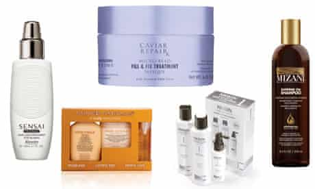 Hair products for beauty column