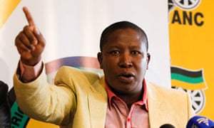 Julius Malema, as ANC youth leader, 2010