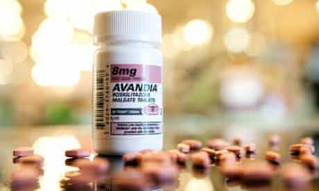 Avandia pill bottle