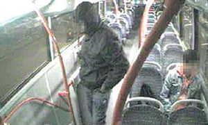CCTV image of Dawda Jallow, 15, last seen on a route 35 bus on 30 December