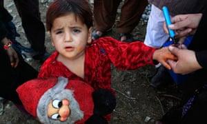 Polio immunisation in Pakistan