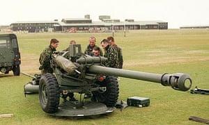 Falkland Islands British troops