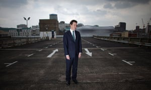 Chancellor George Osborne at Birmingham enterprise zone