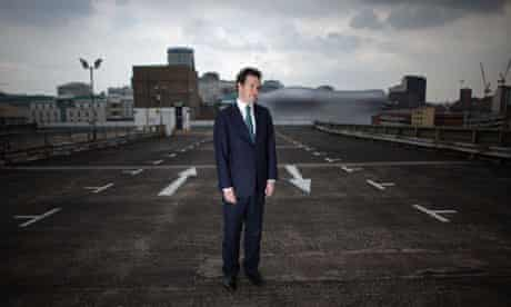 Chancellor George Osborne at Birmingham enterprise zone