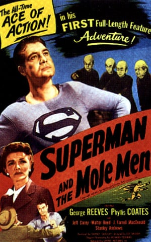 Superman: Superman and the Mole Men - poster