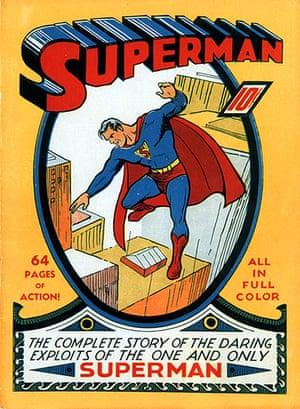 Superman: Superman No. 1 comic book, 1939