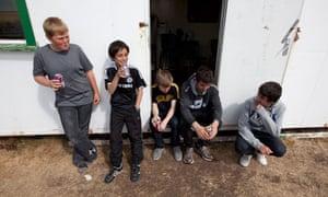 Falkland island youths