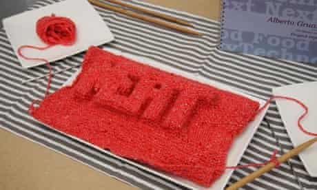 Knitted meat