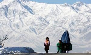 An Afghan family