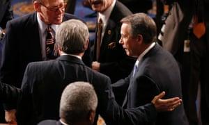 Re-elected Speaker of the House, John Boehner.