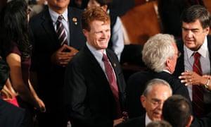 Massachusetts Democratic representative Joseph Kennedy III - grandson of Robert F Kennedy