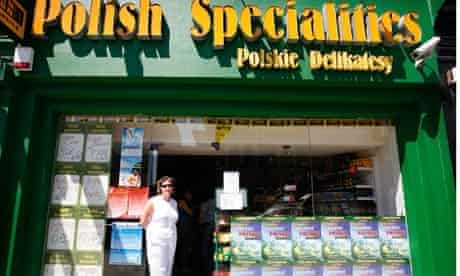Delicatessen shop Polish Specialities in Streatham, London