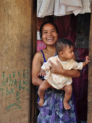 Meghalaya: Woman and baby
