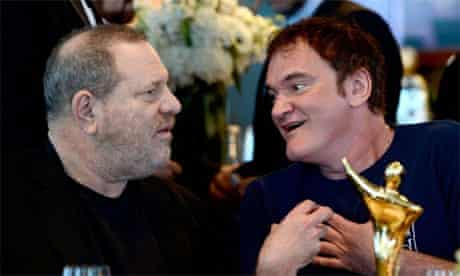Harvey Weinstein and Quentin Tarantino at AACTA awards