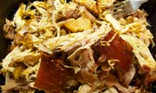 Bompas and Parr recipe pulled pork
