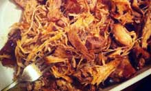 America's Test Kitchen recipe pulled pork