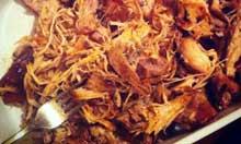 America's Test Kitchen recipe pulled pork