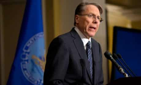 NRA executive vice-president Wayne LaPierre.