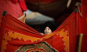 24 hours in pictures: A newly initiated Hindu monk of the Shri Panchayati