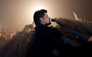 24 hours in pictures: The Script in concert, Milan, Italy - 29 Jan 2013