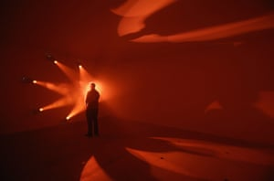 24 hours in pictures: Hayward Gallery's exhibition 'Light Show'
