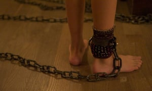 chained film still