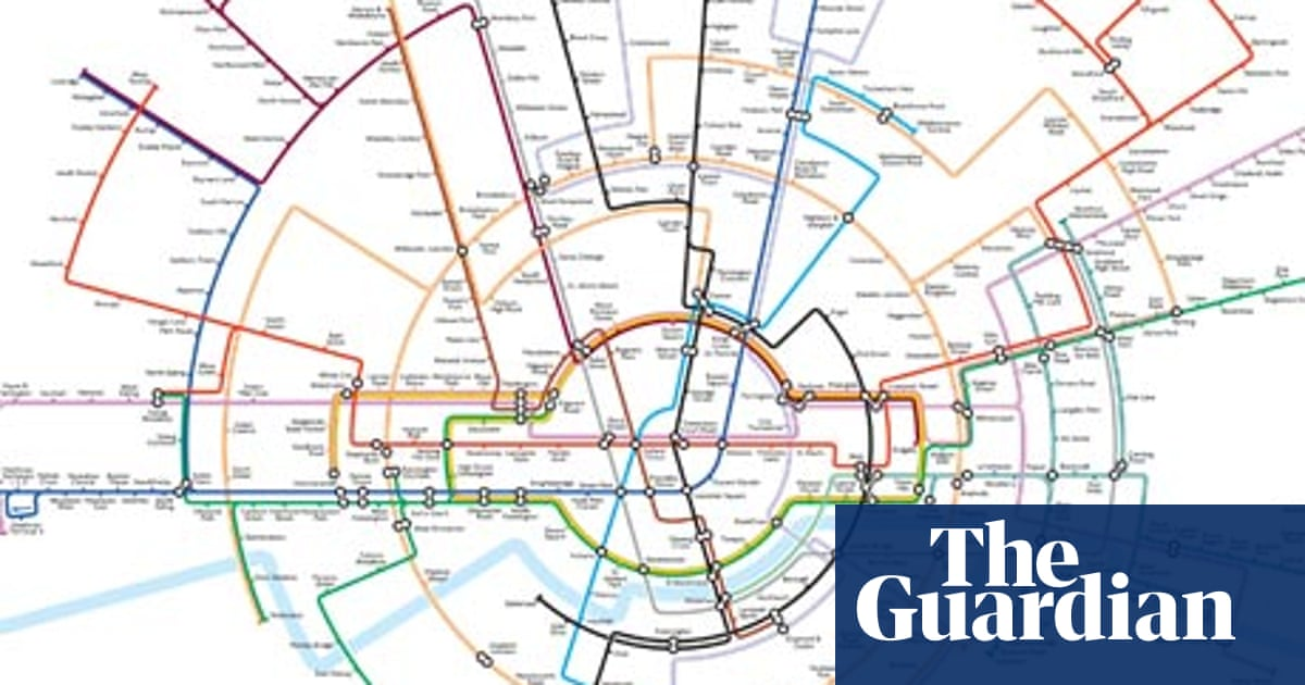 Every line becomes a circle line: a new way to see the tube map ...