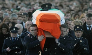 The state funeral of Detective Garda Adrian Donohoe takes place in Dundalk today.