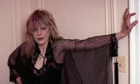 Marianne Faithfull Wearing Black