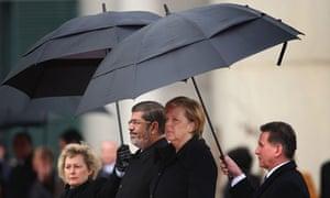 Morsi and Merkel