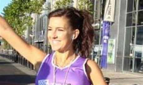 Claire Squires, London marathon runner