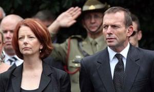 Julia Gillard and Tony Abbott