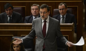 Spanish prime minister Mariano Rajoy is accused of receiving €250,000 in secret payments, in this morning's El País.
