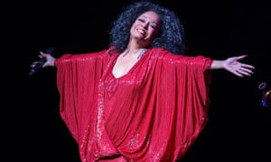 Welcome to my little show: Diana Ross performs at ACL Live in Austin, Texas last night.