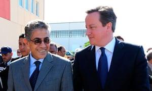 Cameron in Libya