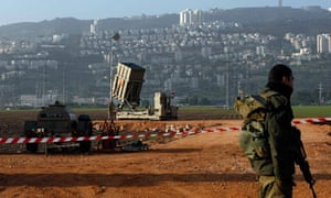 Israeli soldier near Haifa