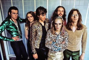 Glam Rock Legends: Roxy Music At Royal College Of Art In London 1972