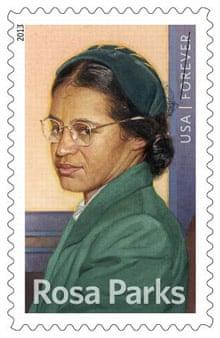 Rosa Parks forever USPS stamp