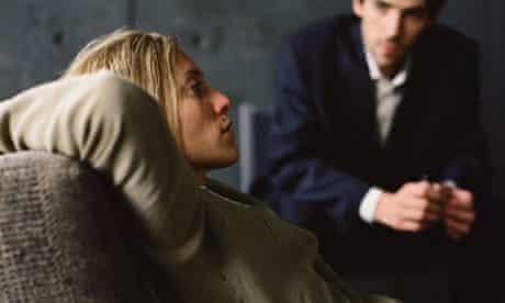 A woman receives therapy